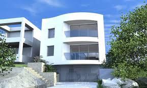 architect designs architect design 3d concept curve house queenscliff