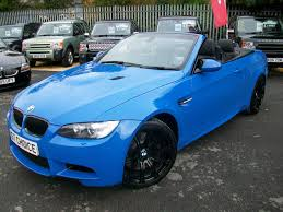 Bmw M3 Blue - used bmw m3 m3 limited edition 500 stunning convertible santorin