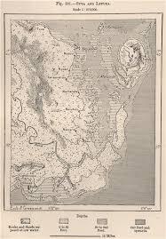 map of suva city suva and levuka fiji the fiji islands 1885 antique map plan