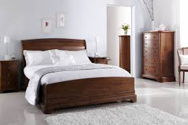 Sleigh Bedroom Furniture Lille Classic Sleigh Bed With Low Footboard Beds