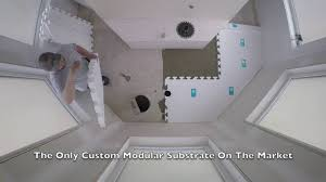 Ez Shower Pan by White Matter Custom Shower Pan Install Youtube