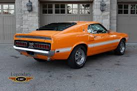 1969 mustang orange 1969 shelby gt500 scj numbers matching engine special order