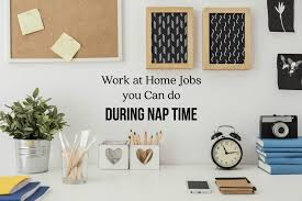 Design Works At Home Work At Home Jobs You Can Do During Nap Time