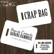 and groom luggage tags set of 2 personalized and groom luggage tags personalized