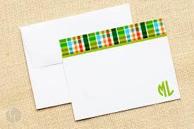 monogram stationery worth avenue folded notecards monogram stationery preppy