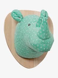 trophee elephant carton diy tête de cerf en carton à faire soi même astuce déco