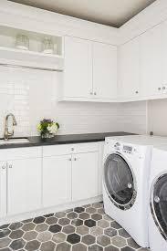 laundry room floor cabinets gray hex laundry room floors transitional bathroom