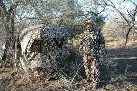 Bow Hunting From A Ground Blind Hunting From A Ground Blind Bowhunting Net