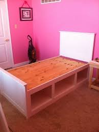 Twin Beds For Kids by Best 25 Twin Storage Bed Ideas On Pinterest Diy Storage Bed