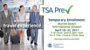 myrtle beach airport opening up enrollment in tsa pre check