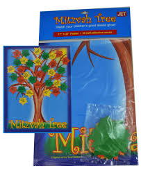 jewish gifts for kids mitzvah tree poster