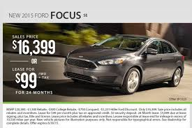 price of ford focus se hiller ford 2015 milwaukee ford focus special sale and lease