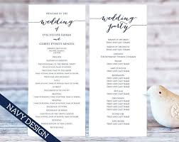 print your own wedding programs wedding program templates instantly edit and print your