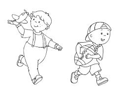 caillou coloring pages kids gekimoe u2022 8033