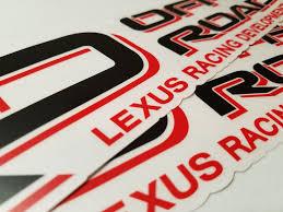 lexus racing wallpaper lrd lexus racing development decal u2013 cruiser gear