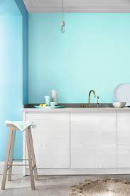cuisine bleu ciel cuisine peinte en bleu idées décoration intérieure farik us