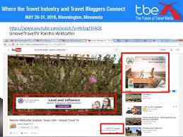 Texas travel media images Michael collins travelmedia ie leslie graham unravel travel tbex
