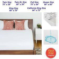 zippered mattress cover ebay