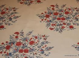 Vintage Drapery Fabric Chintz 14 Yard Piece Vintage Cotton Chintz English Country Floral