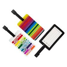 travelon destination stripes luggage tags the container store
