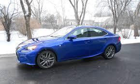 lexus is300 blue road test review 2016 lexus is200t f sport