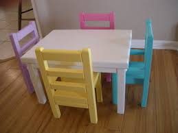 american doll dining table kitchen table and chairs for american by paynestdollboutique