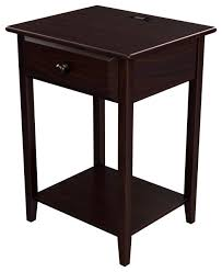 stony edge nightstand with drawer and usb port espresso color 17