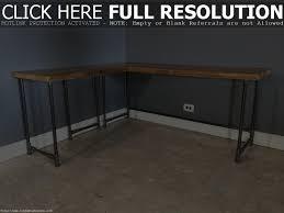 reclaimed wood corner computer desk decorative desk decoration