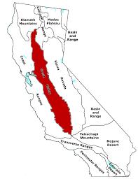 Sacramento Ca Map Gold Ridge