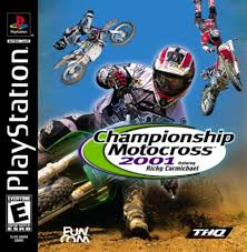freestyle motocross game championship motocross 2001 featuring ricky carmichael gamespot