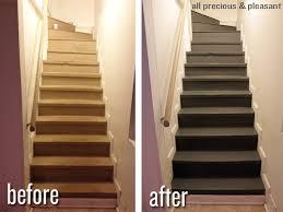 basement stair makeover part 1 u2014 peach u0026 pine home
