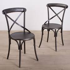 Rustic Dining Chair Metal Dining Chairs