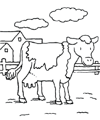 Coloring Pages Animals Cow Printable Calendar September 2017 Coloring Pages For September