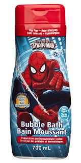spiderman thanksgiving spiderman tear free bubble bath walmart canada
