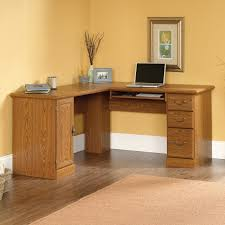 L Shaped Home Office Desk Corner L Shaped Office Desk With Hutch Black And Cherry Backrest