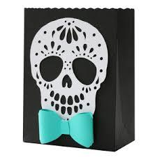 silhouette design store view design 153937 sugar skull bow tie bag