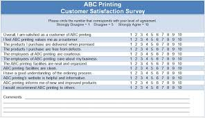 customer satisfaction questionnaire template useful pinterest