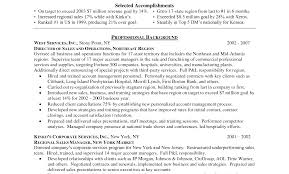 exles of resumes for management sle sales managementme template awesome account manager for hotel