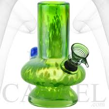 soft glass water pipe bong 6