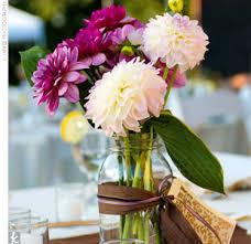 jar floral centerpieces jar centerpieces weddingbee