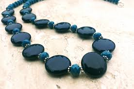 blue shell necklace images Black friday specials fab stitches JPG