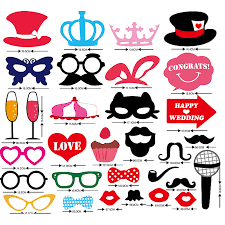 photo booth props for sale hot sale 31pcs lot crown glasses beard mustache photo booth