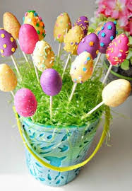 food bouquets easter cake pop bouquets diy easter treat ideas