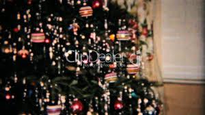 beautiful star on christmas tree 1958 vintage 8mm film royalty