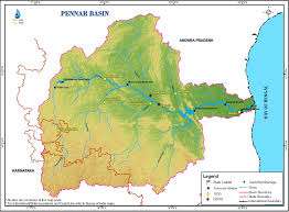 India State Map by Pennar