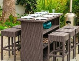 high table patio set outdoor high top table patio furniture sets outdoor high top table
