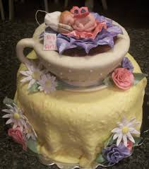 tea cup baby shower cake cakecentral com