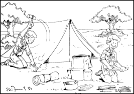 camping coloring pages get coloring pages