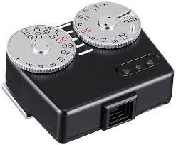 shoe light meter voigtlander vc meter ii shoe mounted speed light meter black