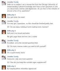 Memes About Depression - strong link between ironic memes and depression